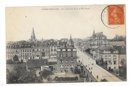 SARREGUEMINES  (cpa 57)  Rue Maréchal Foch Et Rue Roth -   - L 1 - Sarreguemines