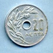 1966 20 LEPTA - Greece