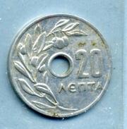 1969 20 LEPTA - Grèce