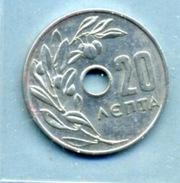 1964 20 LEPTA - Grèce