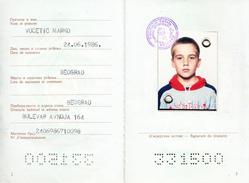 CHILDREN PASSPORT-SFR YUGOSLAVIA - Documenti Storici