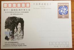 China 1993, JP. 40, XI International Congress Of Speleology - China