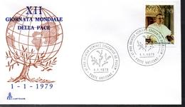 VATICAN  FDC 1979 Paix - Vatikan