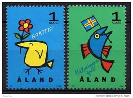 Aland - 1996 - Yvert N° 107 & 108 ** - Aland