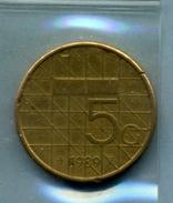 1989 5 GULDEN - [ 3] 1815-… : Royaume Des Pays-Bas