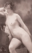Nu Féminin - Repro Photo D'époque - Nus Adultes (< 1960)