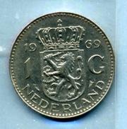 1969  1 FLORINT - [ 3] 1815-… : Royaume Des Pays-Bas