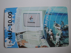 1 Remote Phonecard From Bonaire