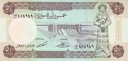 SYRIA 50 SYRIAN POUNDS 1991 P-103 UNC [SY619e] - Syrië