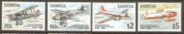 Samoa 1998 SG 1029-32 Anniversary R A F Unmounted Mint - Samoa