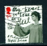 GREAT BRITAIN  - 2011  Shakespeare  £1  Used As Scan - 1952-.... (Elizabeth II)