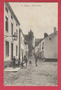 Fosses - Rue Al Val .... Groupe De Gamins ... Porteur D'eau -1912 ( Voir Verso ) - Fosses-la-Ville