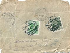 URSS Derrière De Lettre 1929 Léningrad