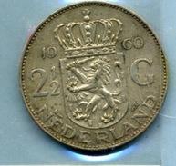 1960 2,5 FLORINT - [ 3] 1815-… : Royaume Des Pays-Bas
