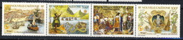Nouvelle Caledonie 1998 Serie N. 764-767 MNH Cat. € 10.60 - Nuova Caledonia