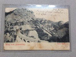 AK  SEMMERING   1899. - Semmering