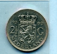 1969 2,5 FLORINT - [ 3] 1815-… : Royaume Des Pays-Bas