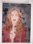 2 CPM  Demi Teintes Et Nostalgie Tosca Cali    T.B.E. 18 X 13 Cm - Peintures & Tableaux