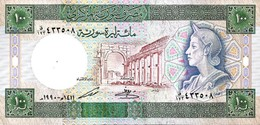 SYRIA 100 SYRIAN POUNDS 1990 P-104d UNC  [SY620d] - Syria