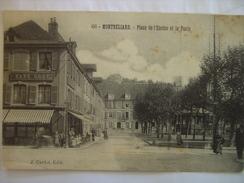 Doubs Montbeliard Place De L'Enclos Et De La Poste - Montbéliard