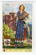 Costume Di REGGIO CALABRIA  -  Splendida Figurina Caffè Lavazza Anni 1950/60 - Stampe & Incisioni