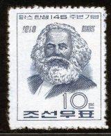 Korea 1963, SC #459, 145th Birthday Of Karl Marx - Karl Marx