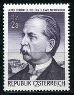 Österreich - Michel 1320 - ** Postfrisch -  Josef Schöffel - 1945-.... 2. Republik