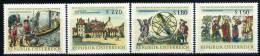 Österreich - Michel 1218 / 1221 - ** Postfrisch - Nationalbibliothek - 1945-.... 2. Republik