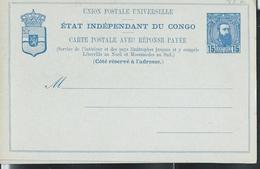 Carte Neuve  N° 13 E Avec Réponse Payée - Stamped Stationery