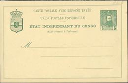 Carte Neuve  N° 12 E Avec Réponse Payée - Stamped Stationery