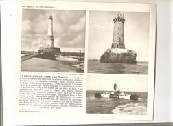Bateau La Protection Des Ports: Phare Du Havre Et Phare De Dunkerque De 1952 - Bateaux