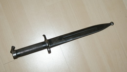 BAIONNETTE SUEDOISE AVEC FOURREAU - - Knives/Swords