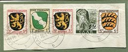 VR 96 Sarre Fragment De Lettre De Saarburg (Bz Trier) Du 28.1.47 Avec Affranchissement Mixte Sarre Et Zone Française - Lettres & Documents