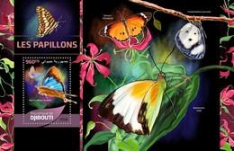 Djibouti - Postfris/MNH - Sheet Vlinders 2016 - Djibouti (1977-...)