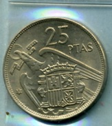 1957    25 PESETAS - 25 Pesetas