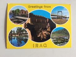 AK OIRAQ IRAK  CARTOLINA POSTCARD 1988 - Irak