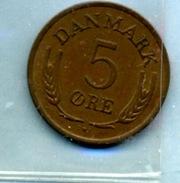 1968  5 ORE - Denmark