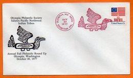 U S A  INDIEN   1977 Lettre Entière N° BB 866