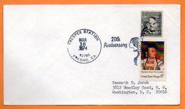U S A  INDIEN   1974 Lettre Entière N° BB 887