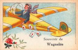 CPA SOUVENIR DE WAGNELEE - Fleurus