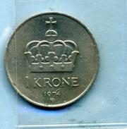 1974  1 COURONNE - Norvège