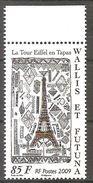 Wallis Und Et Futuna 2009 Tour Eiffel Tapa Eiffelturm Michel No. 1000 MNH Postfrisch Neuf - Wallis Und Futuna