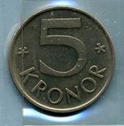 1977  5 COURONNES - Suède
