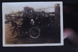 MOTO HARLEY DAVIDSON PETITE PHOTO - Cartes Postales