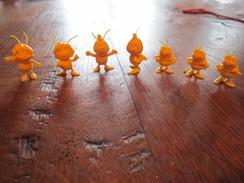 Lot Figurines Maya L'abeille Monochrome - Figurines
