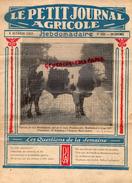 70- CHENEVAY- PARIS LE PETIT JOURNAL AGRICOLE-AGRICULTURE- 9-10-1927- MONTBELIARD GRAY- PROPRIETAIRE M. BEAUGNEY-LAPIN - Journaux - Quotidiens