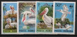 Roumanie / Romania - 1984 - N°Yv. 3543 à 3546 - WWF - Neuf Luxe ** / MNH / Postfrisch