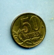 1998  50 KOPECKS - Rusland