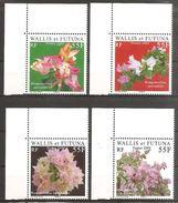 Wallis Und Et Futuna 2009 Bougainvillea Fleurs Michel No. 987-90 MNH Postfrisch Neuf - Wallis Und Futuna