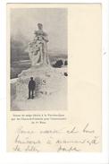16272 - Statue De Neige élevée à La Vue-des-Alpes Par Les Chaux-de-Fonniers Pour Le 1er Mars  + Cachet Vue Des Alpes - NE Neuenburg